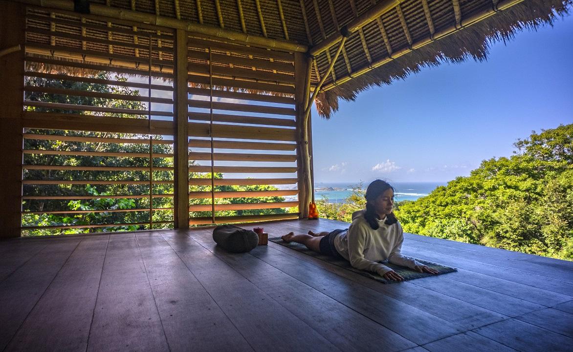 Yin Yoga Postures To Conquer Fear Ashtari Yoga Lombok